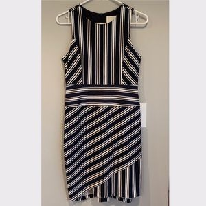 Anthropologie Crew Stripe Sheath Dress